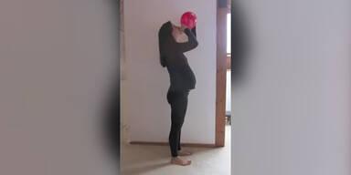 Schwangere fotografiert sich jeden Tag