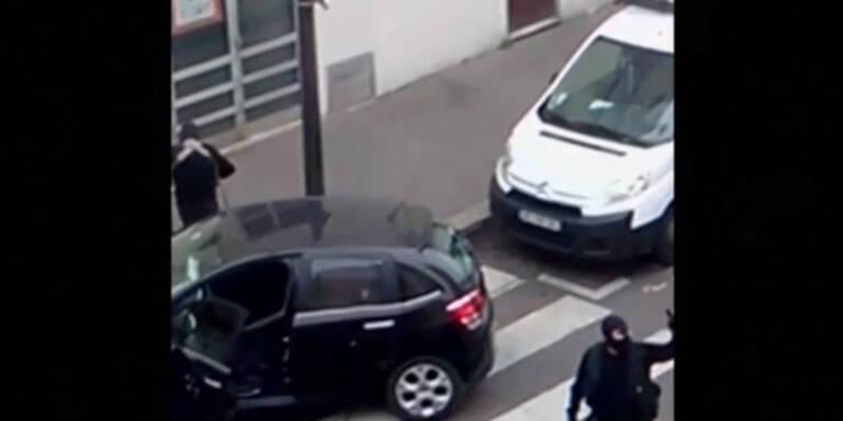 Pariser Attentäter bei Schießerei