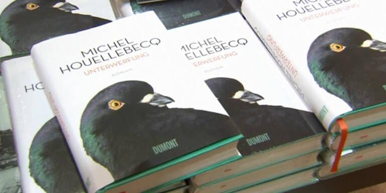 Verkaufsstart des Houellebecq Buches
