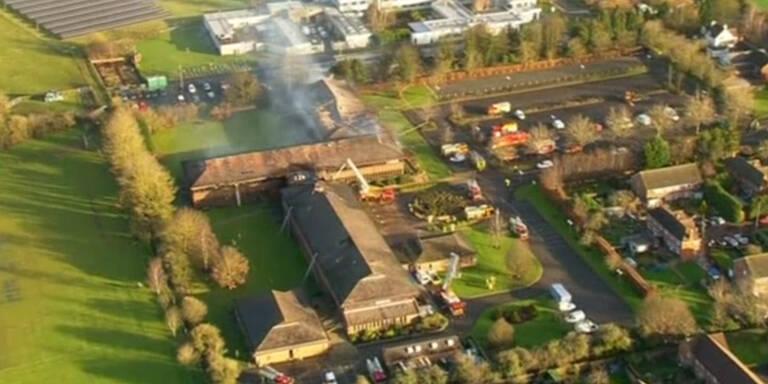 Drei Großbrände bei Oxford