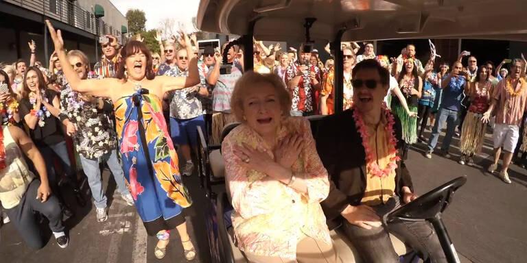 Flashmob für 93er von Golden Girl