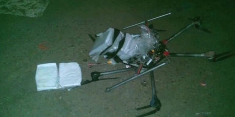 Drogen-Drohne abgestürzt