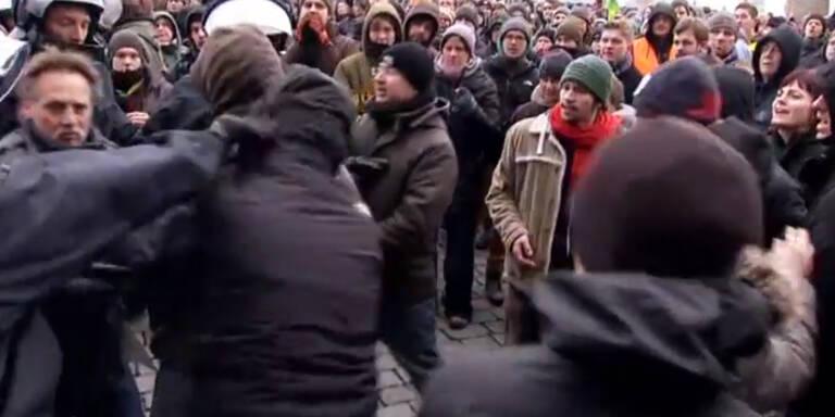 Pegida demonstriert erneut
