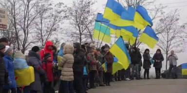 Kämpfe in der Ukraine eskalieren