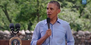 "Barrack Obama ""singt"" Uptwon Funk"