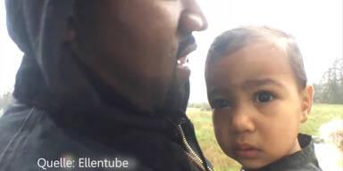 Kanye West: Video mit Tochter