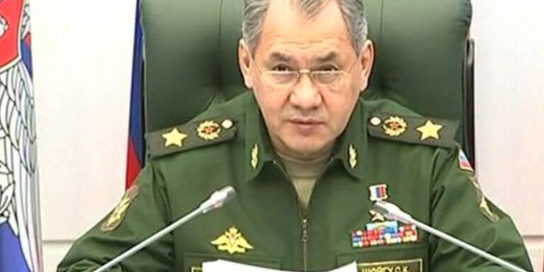 Truppenverstärkung in Russland