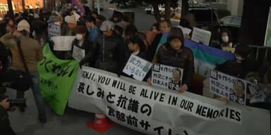 Japan trauert um Geisel Kenji Goto