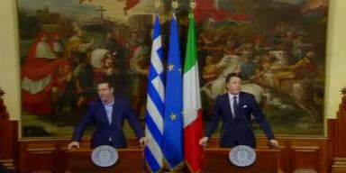 Lage zwischen EU und Griechen
