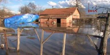 Nordwesten der Türkei überschwemmt