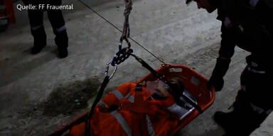 Koralmtunnel: Rettungsübung