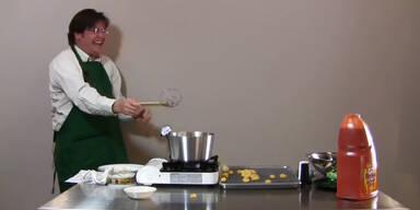 Koch lacht über explodierende Gnocchi