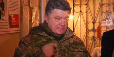 Poroschenko fordert Waffenstillstand