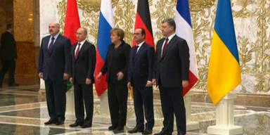 Friedensgespräche in Minsk