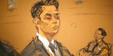 Vor Gericht wegen Tötung eines Schwarzen