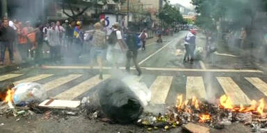 Gewalttätige Proteste in Venezuela