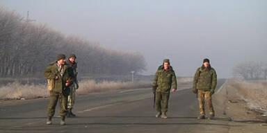 Waffenstillstand: Ruhe in Donezk
