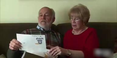 Mann schreibt 40 Jahre Liebesbriefe