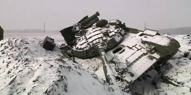 Ukraine: Kein Artillerie-Abzug