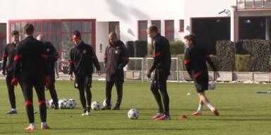 Bayern München vor schwerem Match