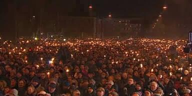 Trauerfeier für Kopenhagen-Opfer