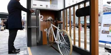 Tiefgarage für das Fahrrad