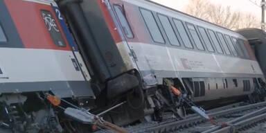 Schweiz: Verletzte nach Zugunglück