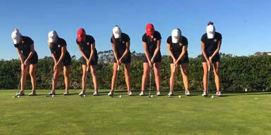 Frauen-Golfteam hat es drauf