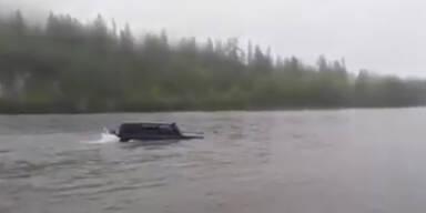 Transformer: Auto ist zugleich ein Boot