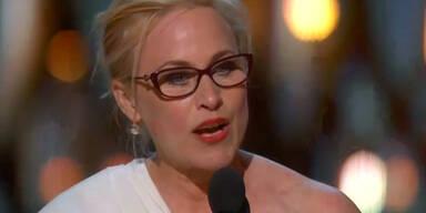 Kämpferische Rede von Patricia Arquette