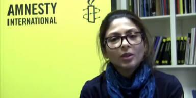 Frau des inhaftierten Bloggers Badawi