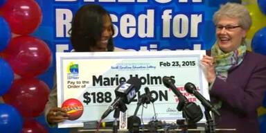 26-Jährige Jackpot-Gewinnerin