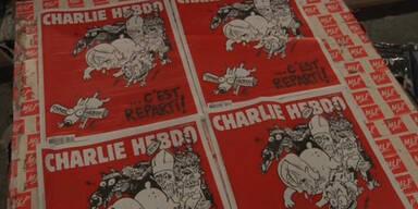 """""""Charlie Hebdo"""" macht weiter"""
