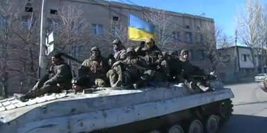 Waffenabzug in der Ostukraine