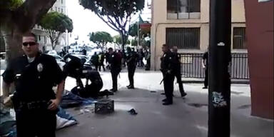 Polizei erschießt Obdachlosen in L.A.