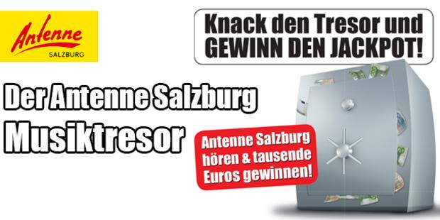 Der Antenne Salzburg Musiktresor