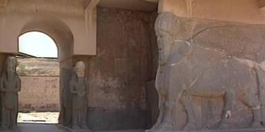 IS zerstört antike Stadt