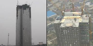 57-stöckiges Haus in 19 Tagen gebaut