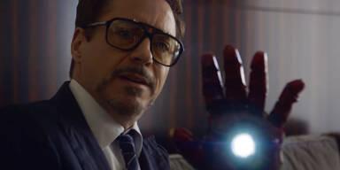 Iron Man verschenkt seinen Arm