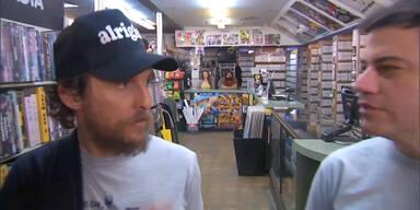 Matthew McConaughey wirbt für Videothek