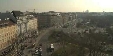 Die Sonnenfinsternis über Wien