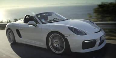 "Porsches neuer ""Boxster Spyder"""