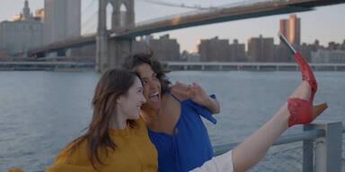Jetzt kommt der Selfie-Schuh!