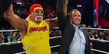 Hogan vs Schwarzenegger