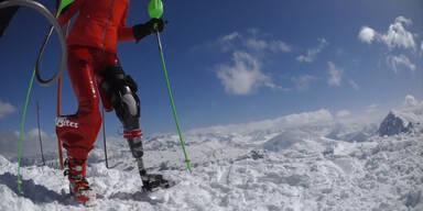 Speed-Rekord mit Beinprothese