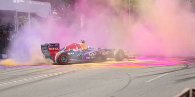Bunt: F1-Bullen wie Marcel Hirscher