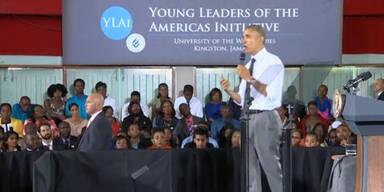 Barack Obama: Thema Marihuana