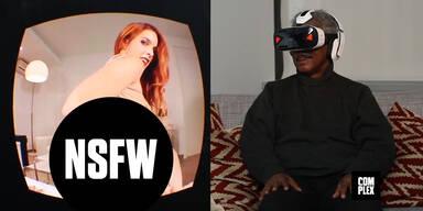 Senioren ragieren auf Pornos