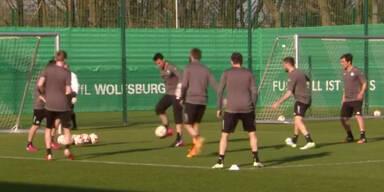 Wolfsburg fokusiert auf Neapel