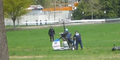 Mini-Hubschrauber Pilot: vier Jahre Haft?